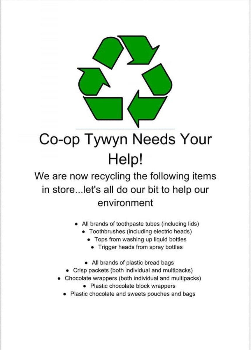 The Co-op supports TerraCycle