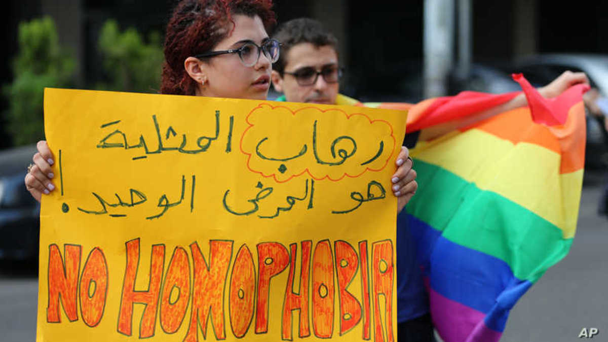 """The only sickness is homophobia!"""