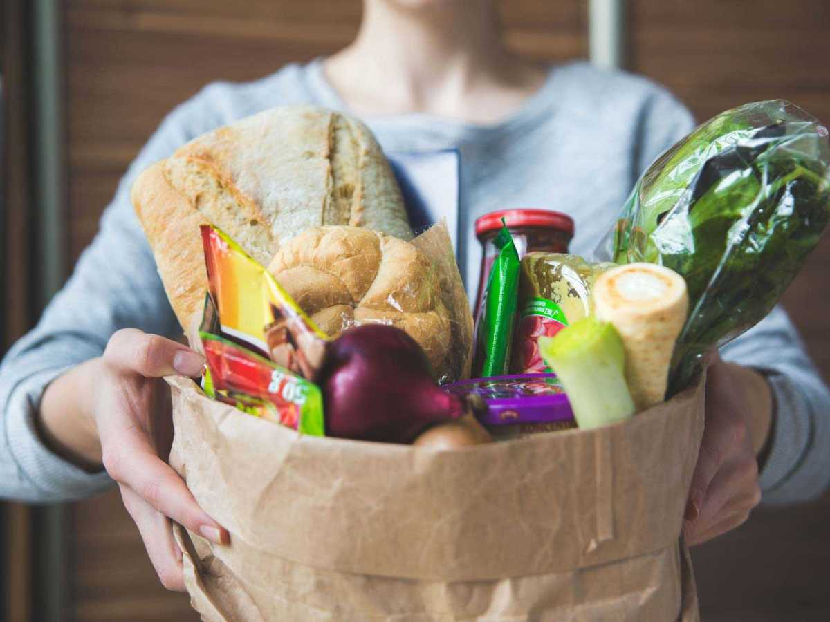 Shop and deliver groceries or donate food to the food bank.
