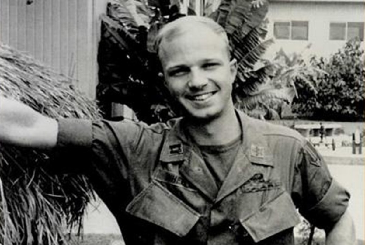 John P. Wheeler during his time with the United States Army in 1967.