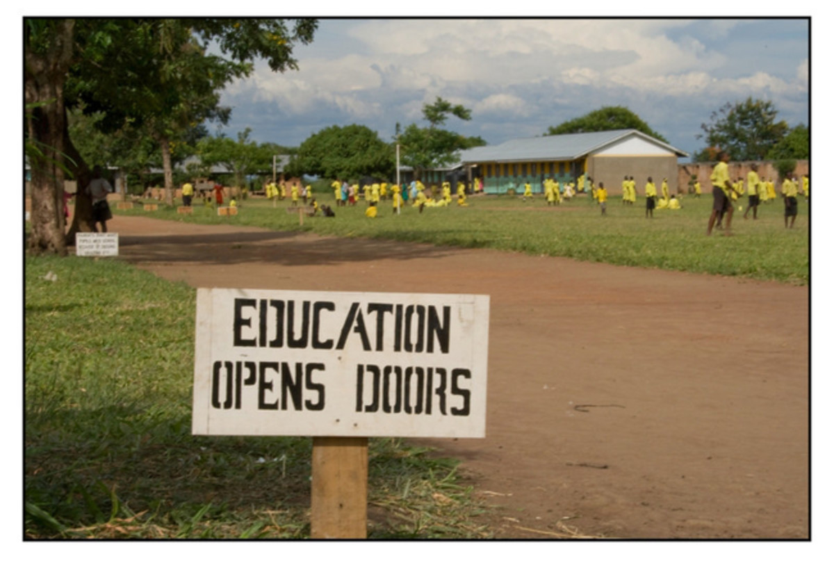 Sign in Uganda, Africa