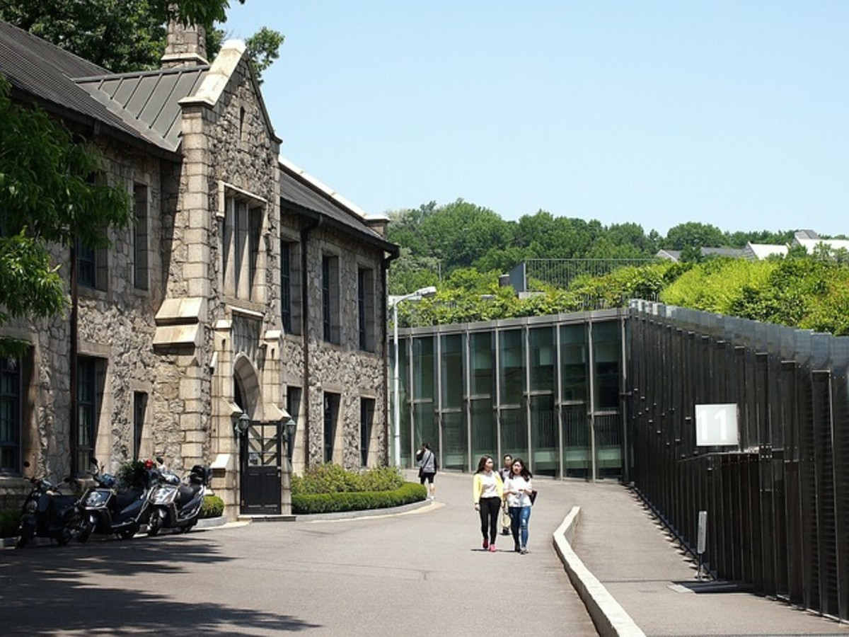 Ewha Woman's University in Seoul, South Korea