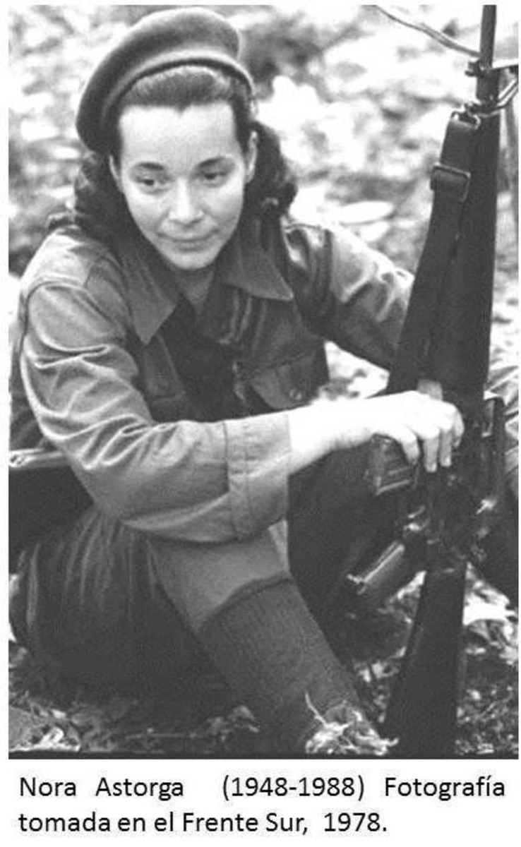 Nora was a Nicaraguan guerilla fighter who became a lawyer, politician, judge and Nicaraguan ambassador to the United Nations from 1986 to 1988.