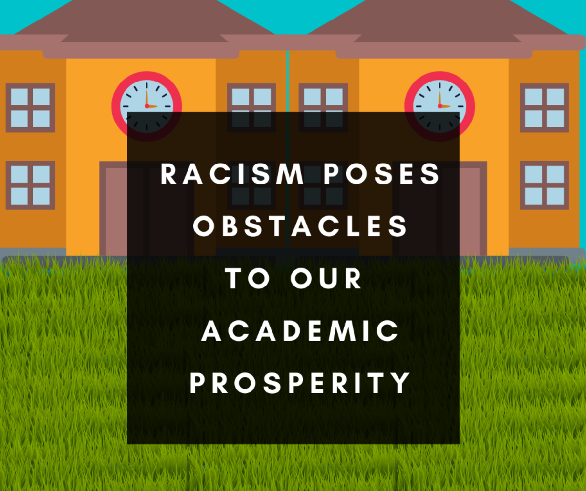 Racism poses obstacles to Africans' academic prosperity.
