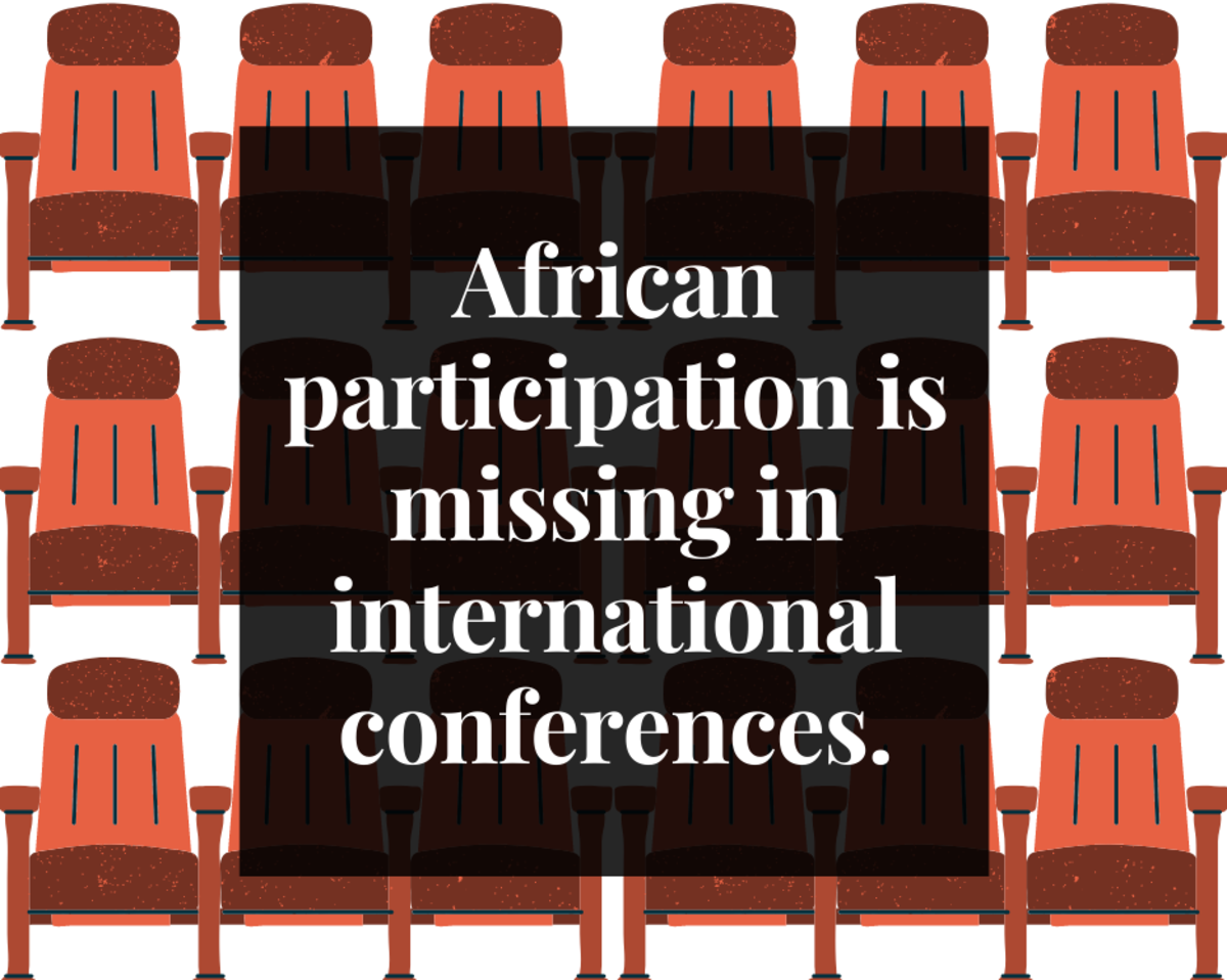 The U.S. has a large influence on the global entertainment industry, leaving Africa out of many international conferences.