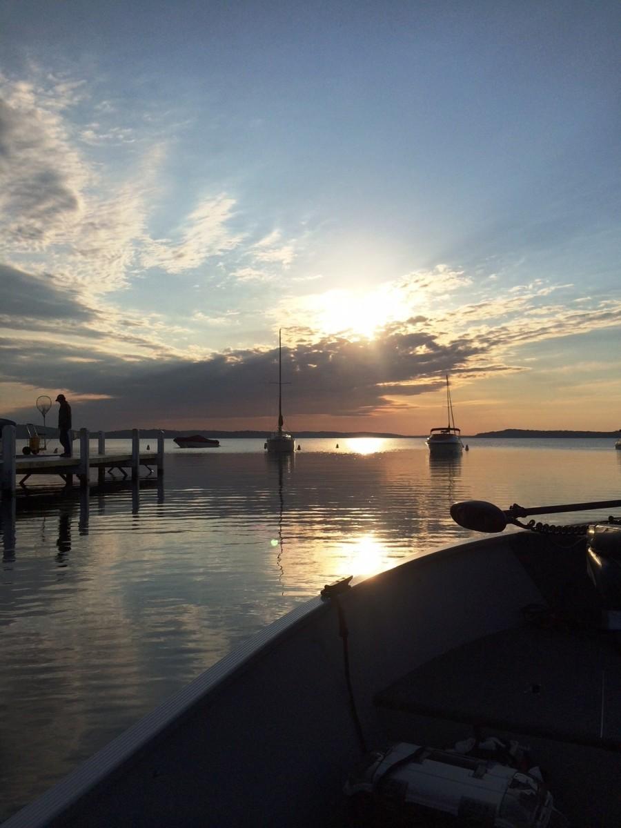 Sunrise over Lake Geneva