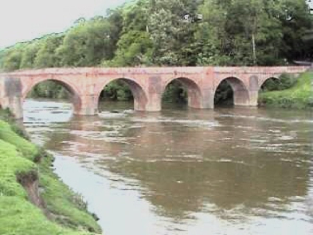 The Bridge- seen from the river bank