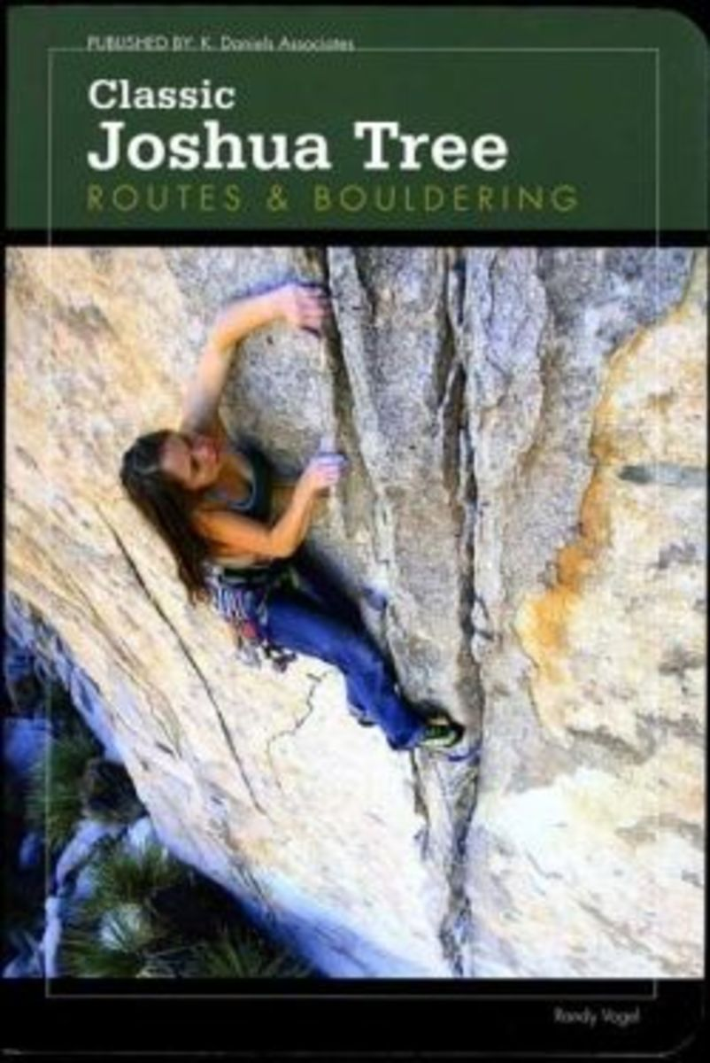 "Randy Vogel's ""Classic Joshua Tree Routes & Bouldering,"" which should be in stores in March 2011."