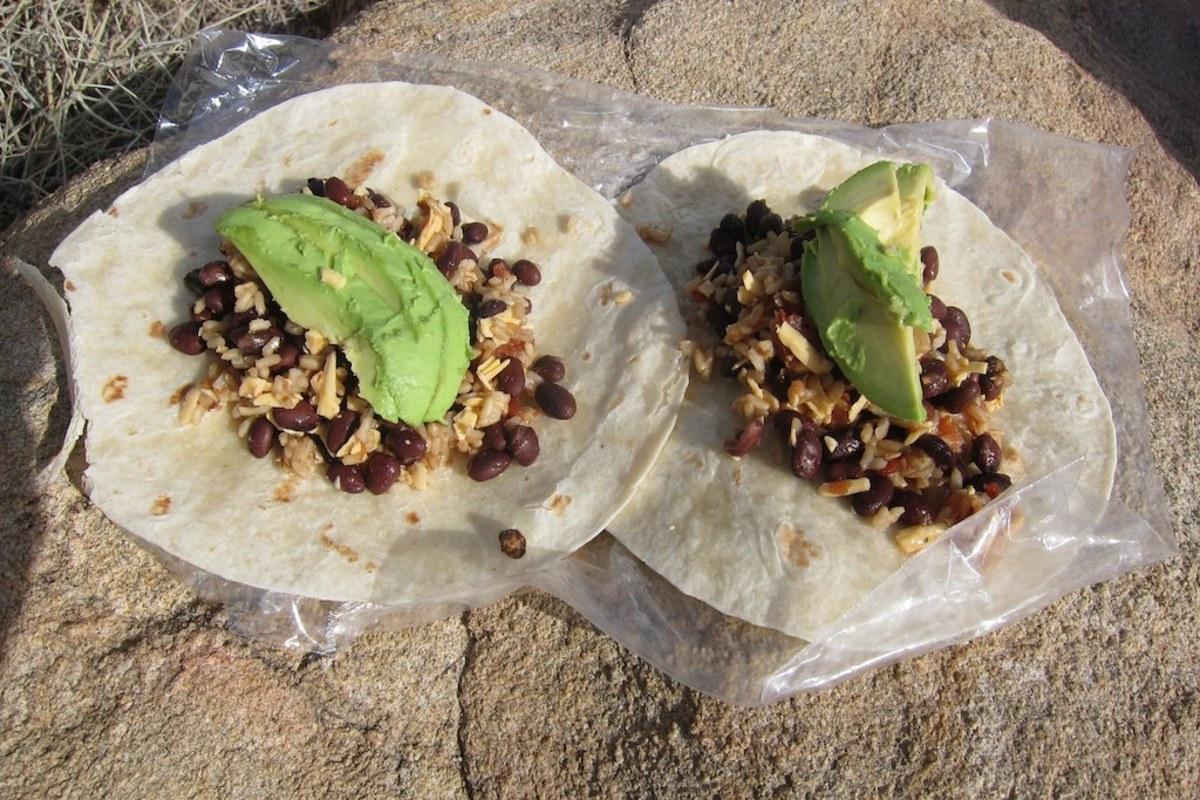 Trail burritos