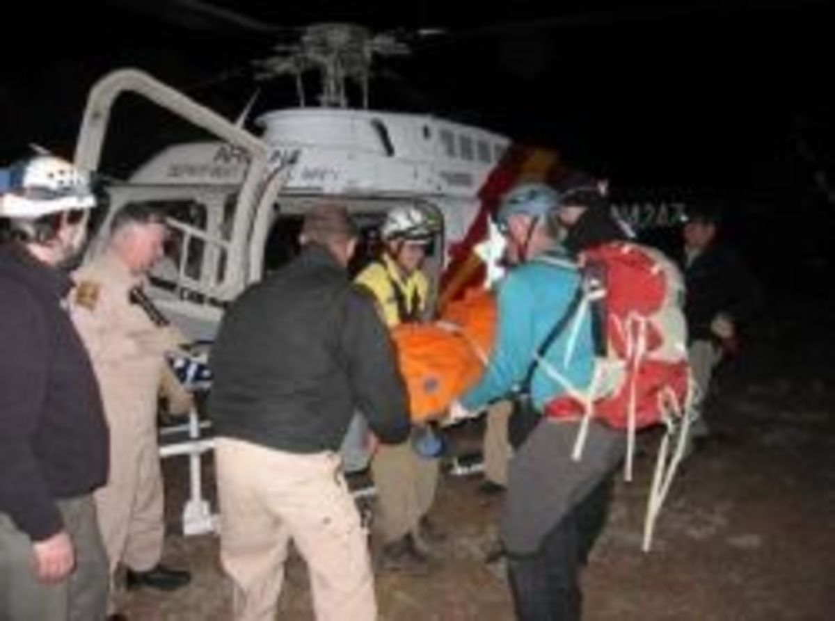 A canyon rescue in Arizona