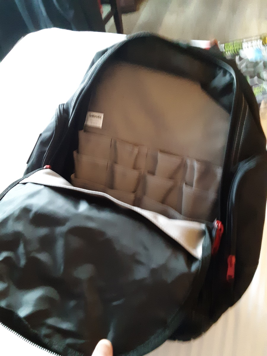 Inside this Backpack