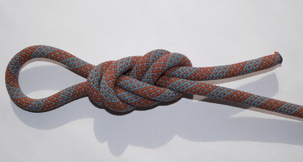 Knots for rappelling
