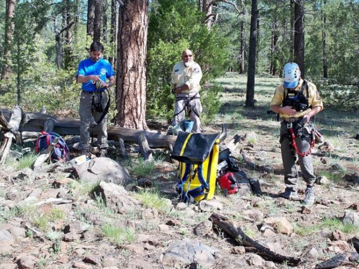 Rock rescue: Getting ready for ascending