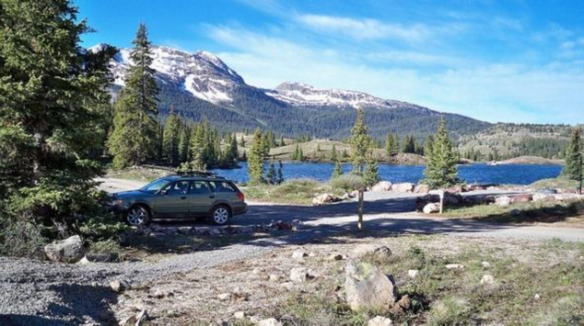 Molas Lake Campground on the Colorado Trail