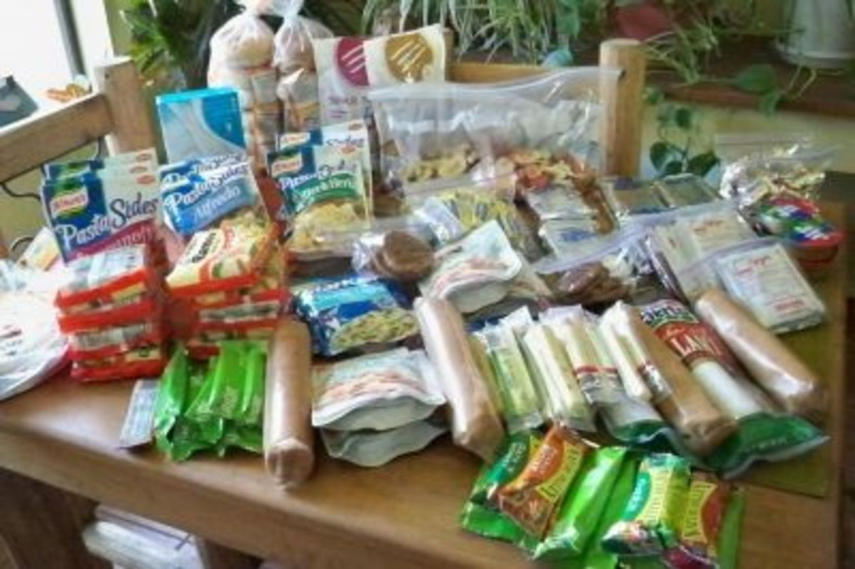 2 People, 7 Days, A Lotta Food!
