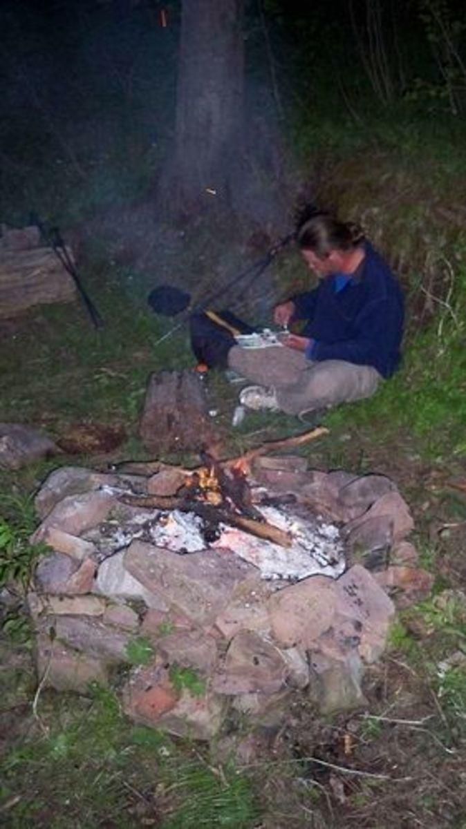 Camping along the Colorado Trail