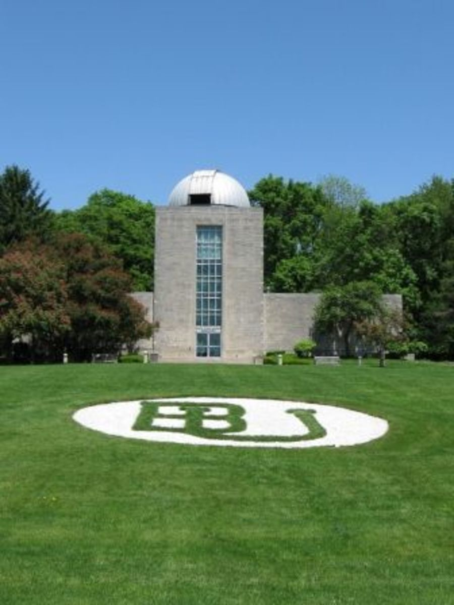 The conservatory at Butler University