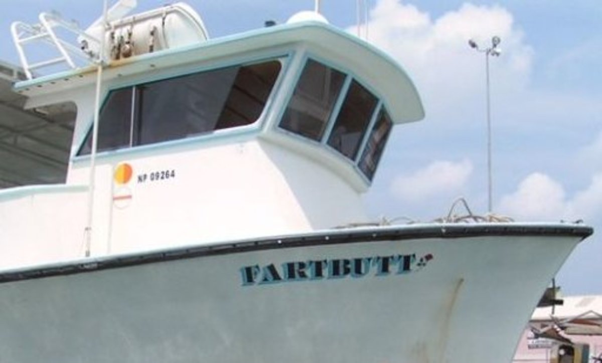 Some boat names are quite random.