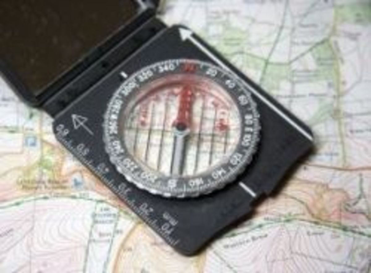 Know how to use a map and compass also.