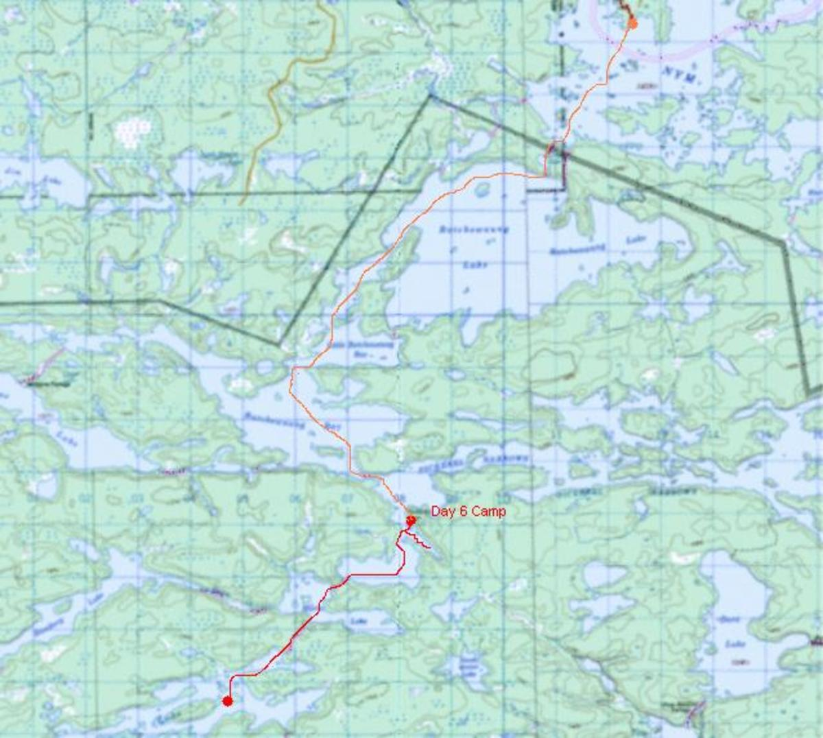 using-my-cedar-strip-canoe-in-canada-2010-trip-day-6-7