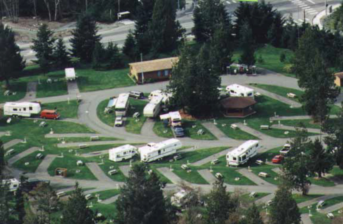 North Whidbey RV Park - close to the bridge, Deception St Park, beaches and lake