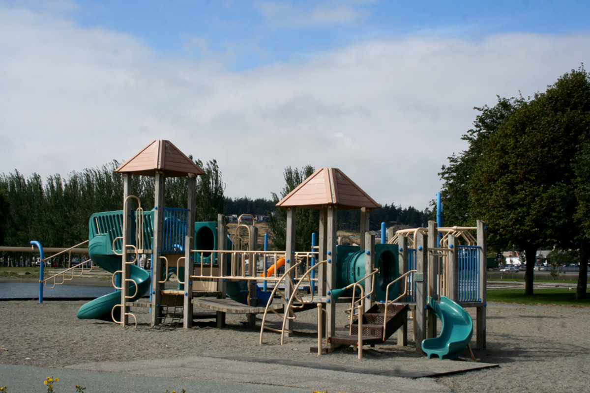 Play area at Windjammer Park