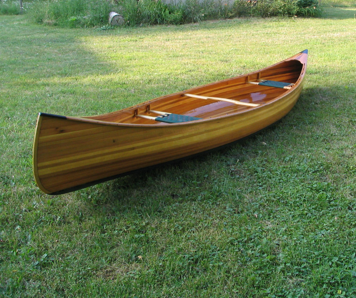 Building a Cedar-Strip Canoe: The
