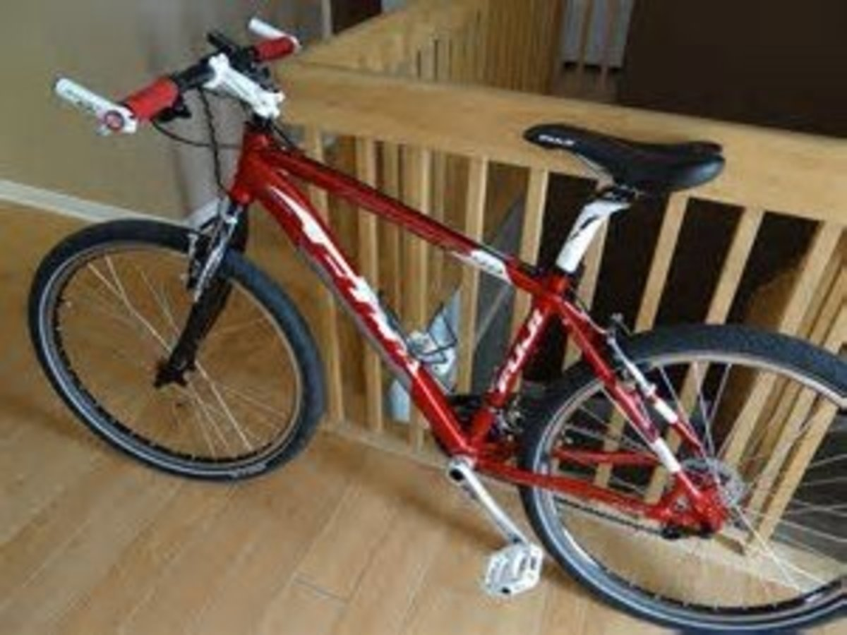A urban bike showing how a good set of bike bar ends can not only enhance the looks of your bike but offer an alternative riding position.
