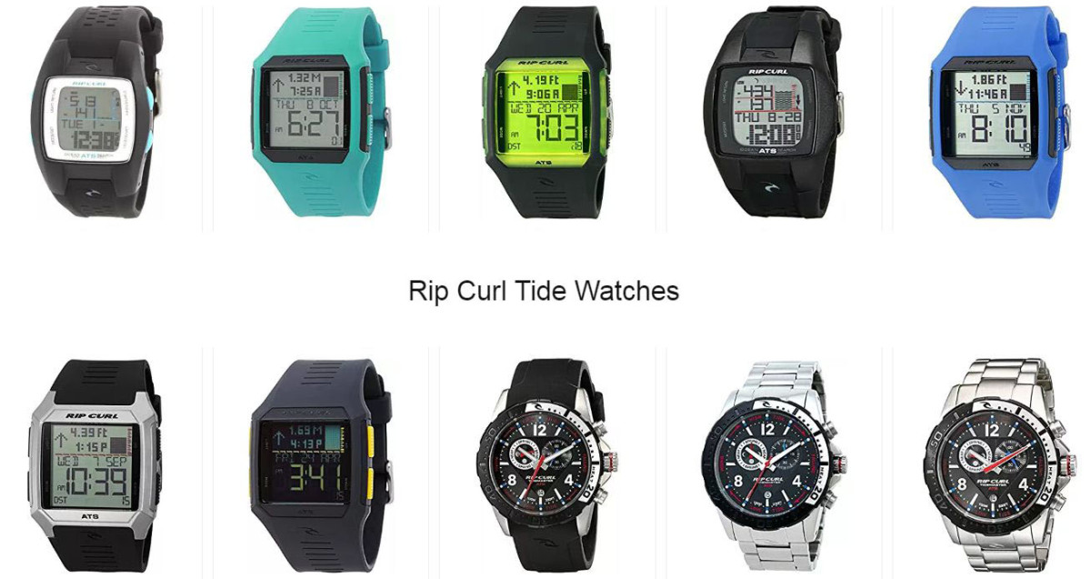 A selection of designs from Rip Curl