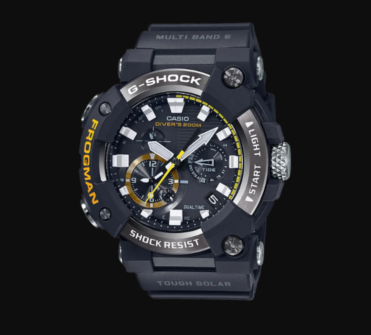 The latest tide watch from Casio