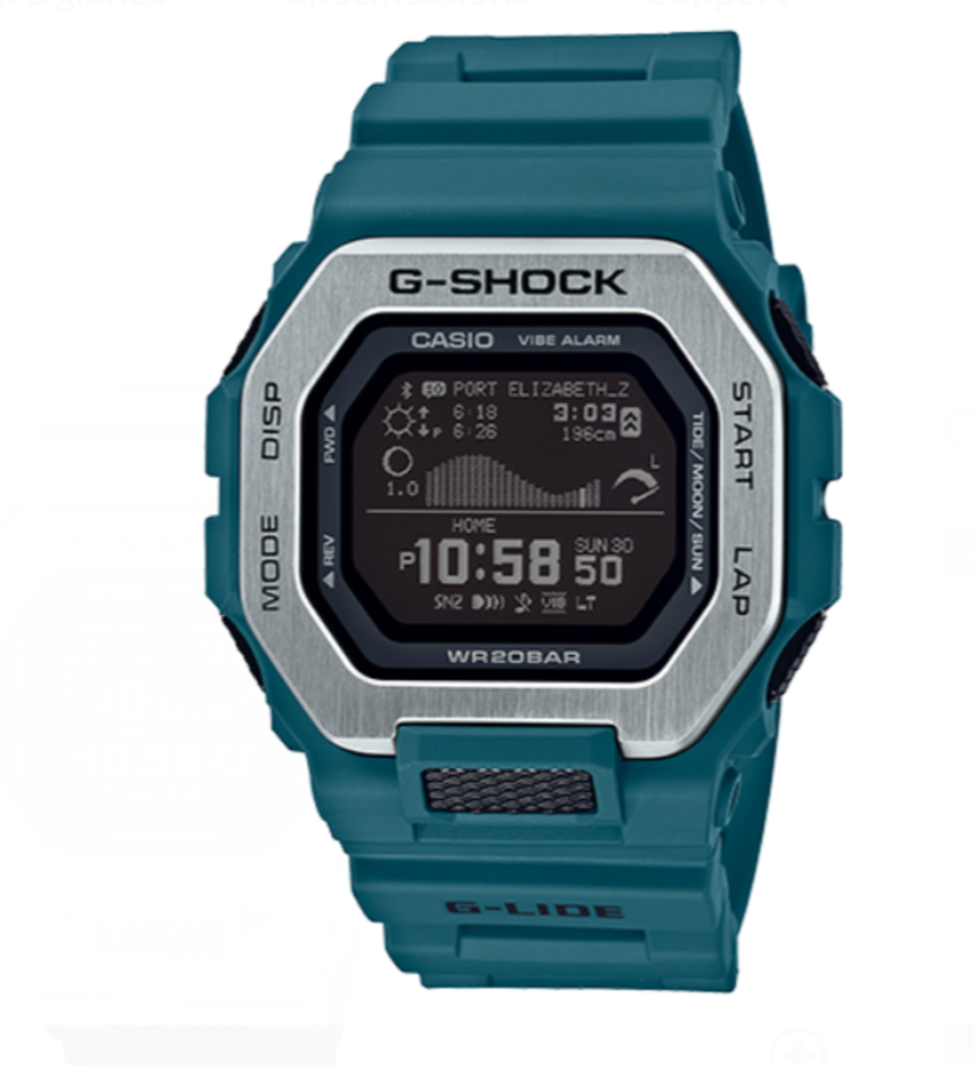 The GBX100-2, launched 2020. Also available in dark grey from Casio's website.