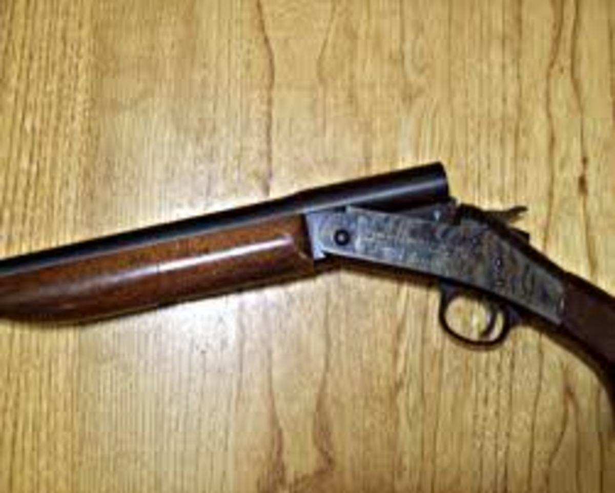 The Harrington And Richardson Single Shot 20 Gauge Shotgun Skyaboveus