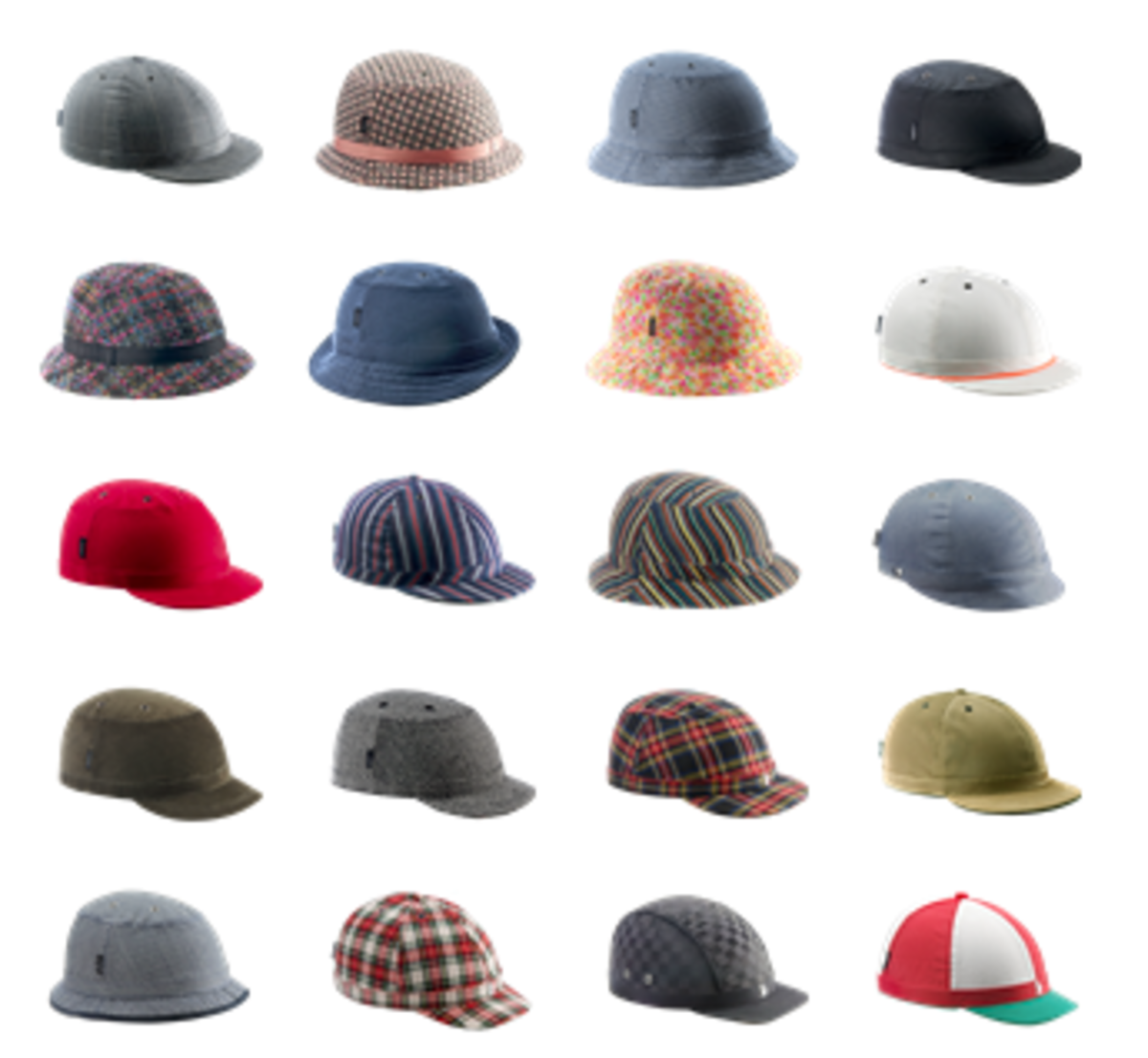 In the YAKKAY workshop, you can select from a wide variety of helmets (not shown) and covers.