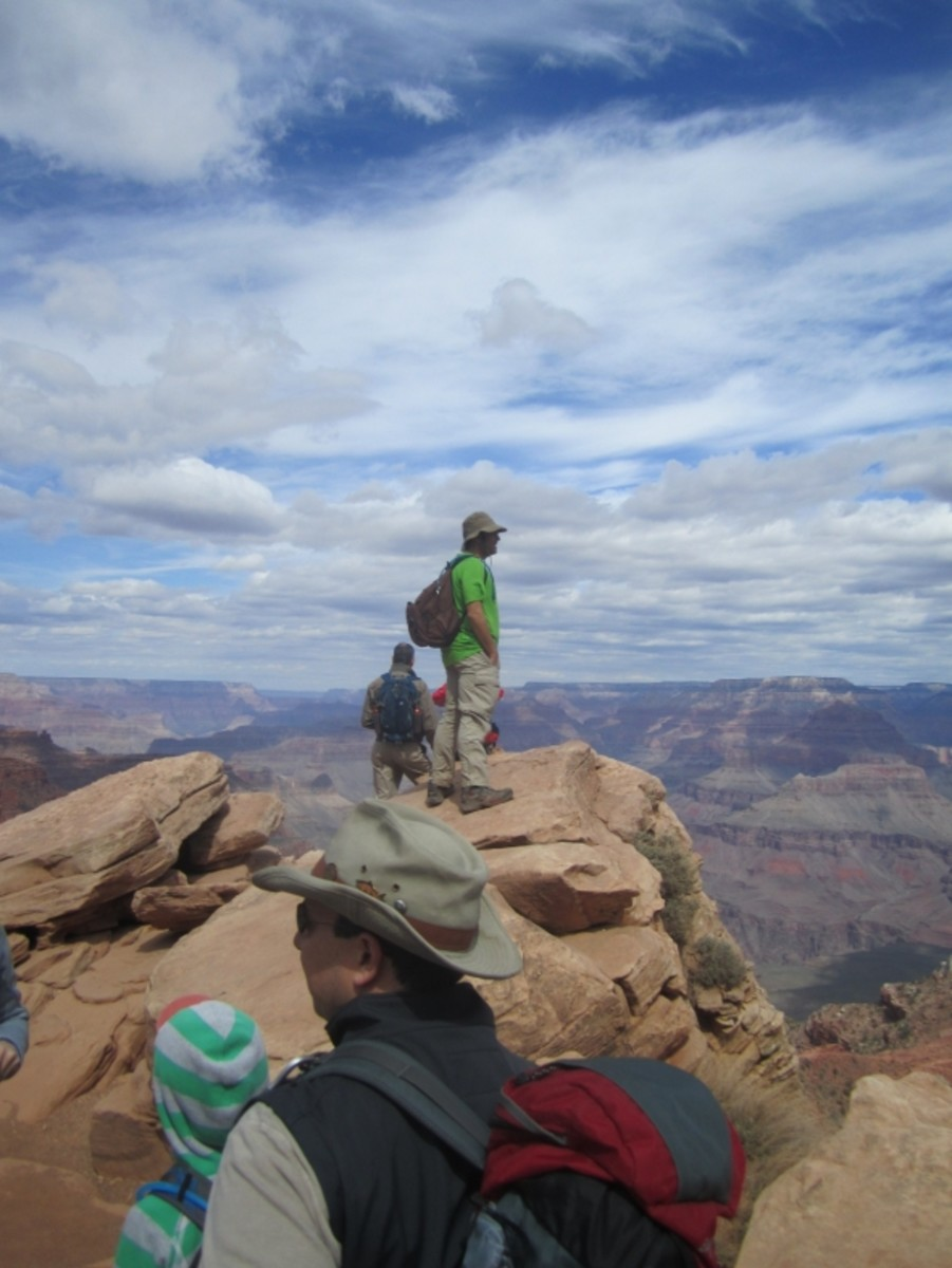 Ooh-Ah Point, South Kaibab Trail, Grand Canyon