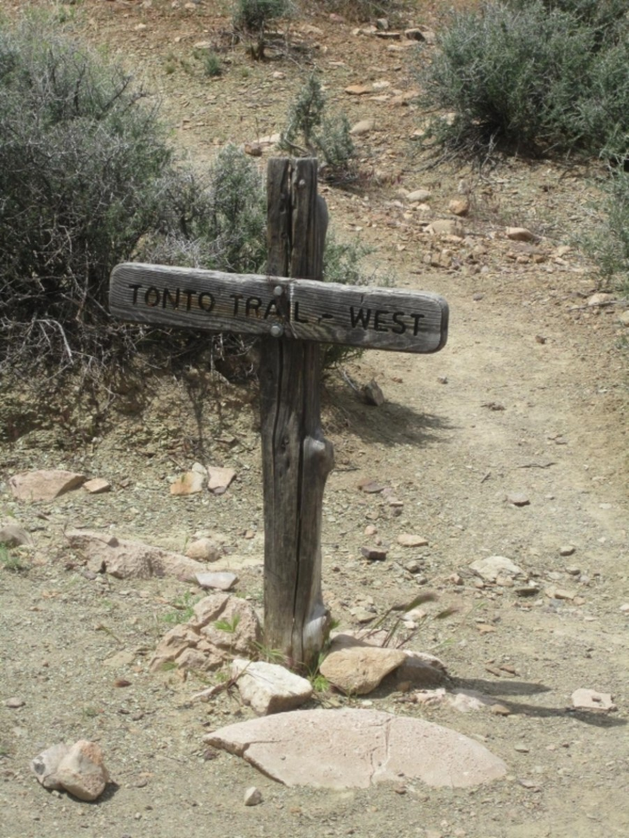 Tonto Trail West, Grand Canyon