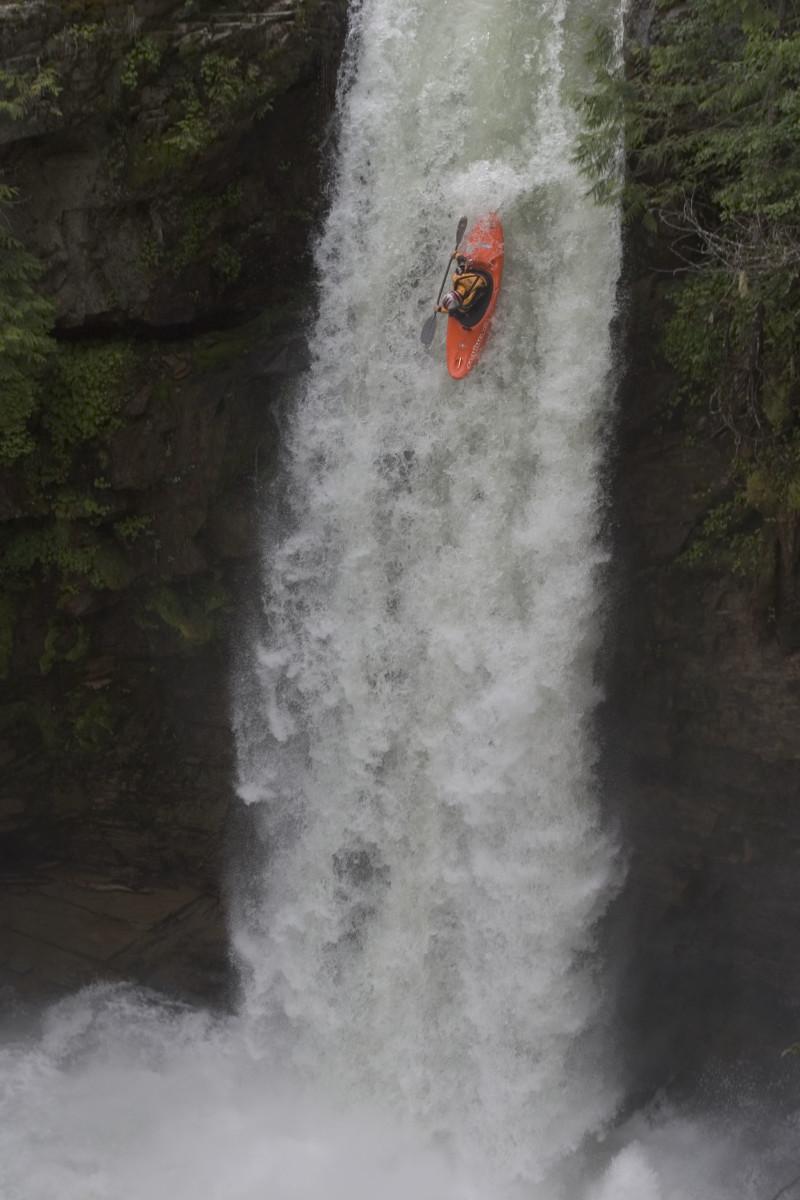 Sutherland Falls, British Columbia.