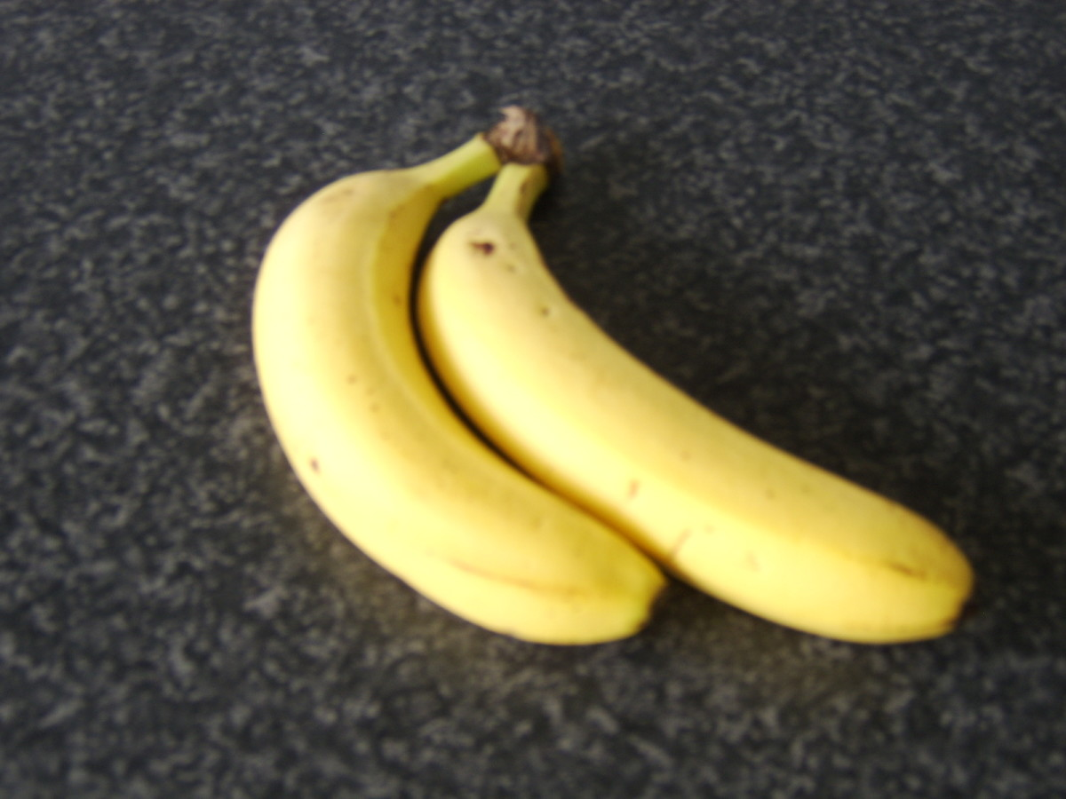Bananas could almost have been designed as a snack for fishermen