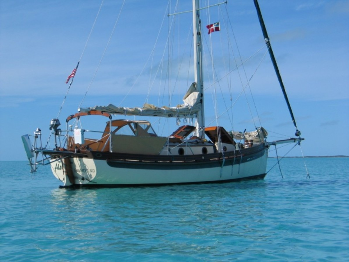 With such classic lines, you can almost feel transported back to the days of the working sailboat.