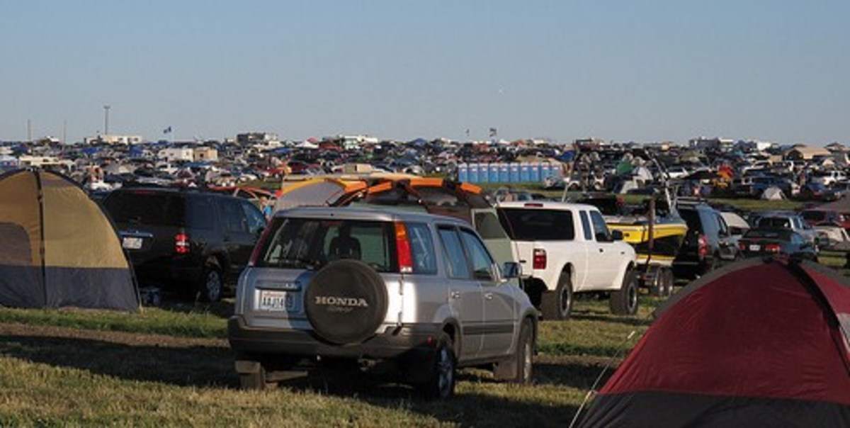 Camping in the Crowds