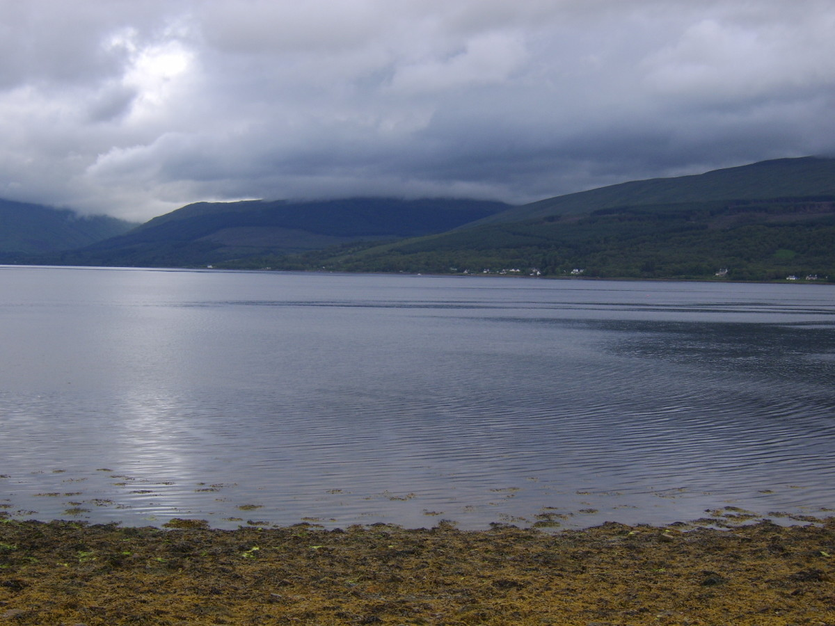 Looking East across Loch Fyne
