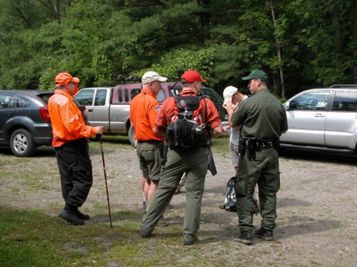 Rangers and other officials depend on SAR team members to use GPS units accurately.