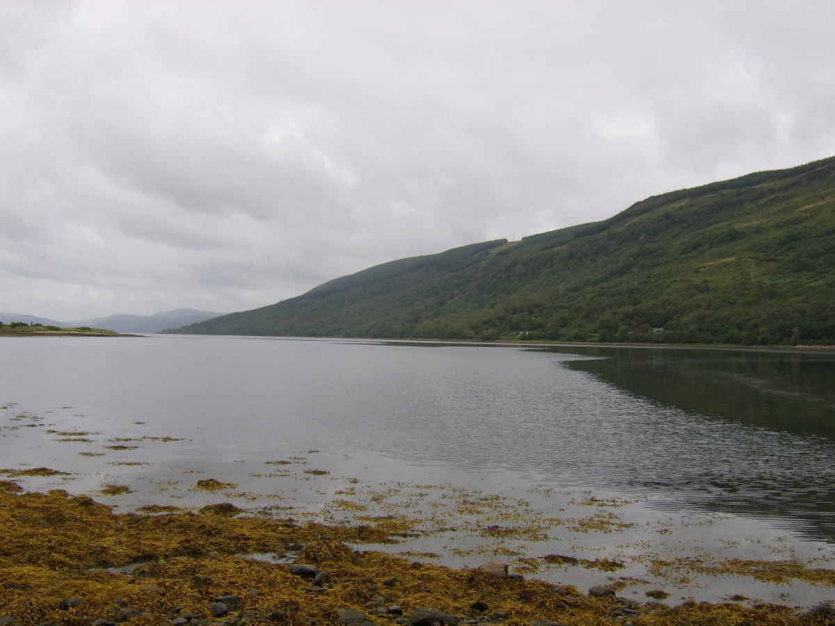 Looking north-west across Loch Fyne from Cairndow