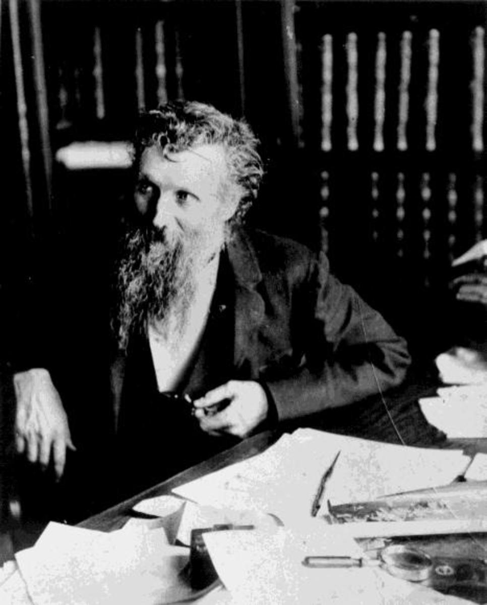 John Muir, creator of several national parks.