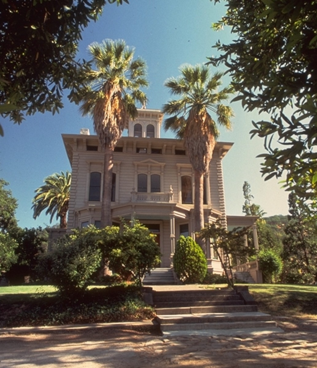 This is the Victorian residence of scientist, philosopher and conservationist John Muir from 1890 till his death 1914