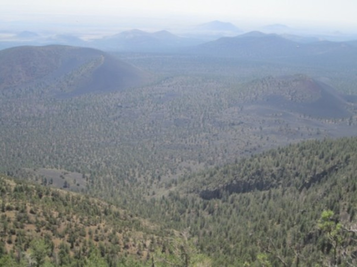 View of Northern Arizona from O'Leary Peak