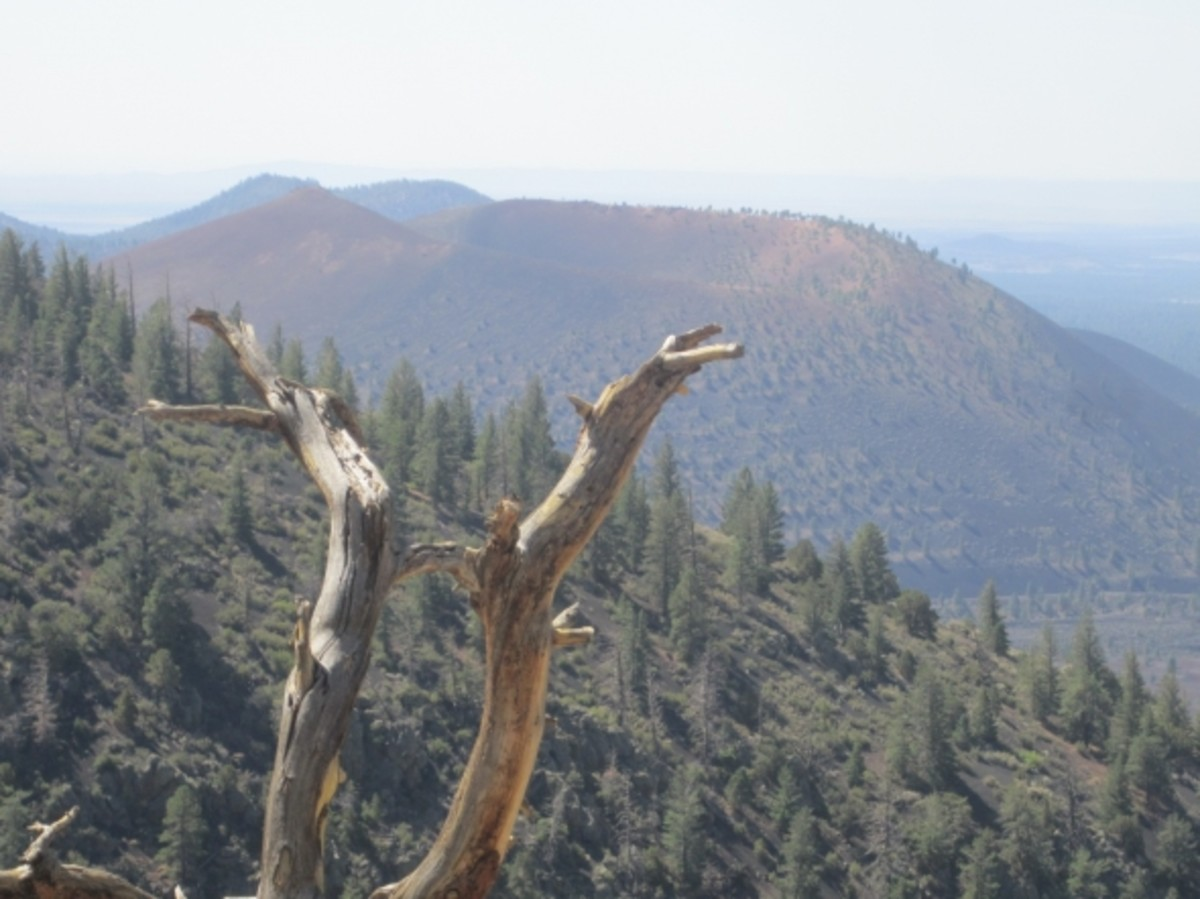 Sunset Crater from O'Leary Peak