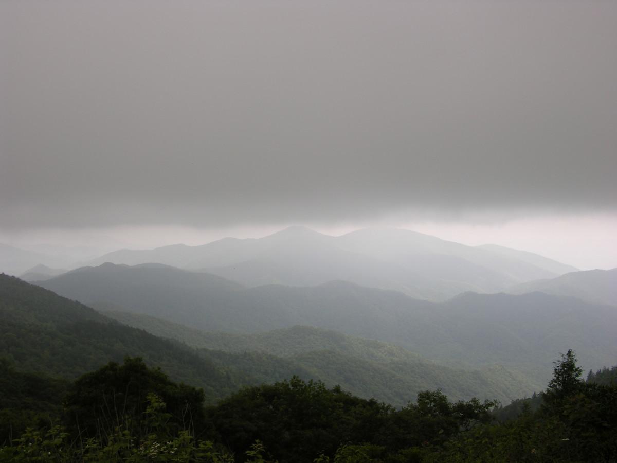 Smoky Mountains, in North Carolina