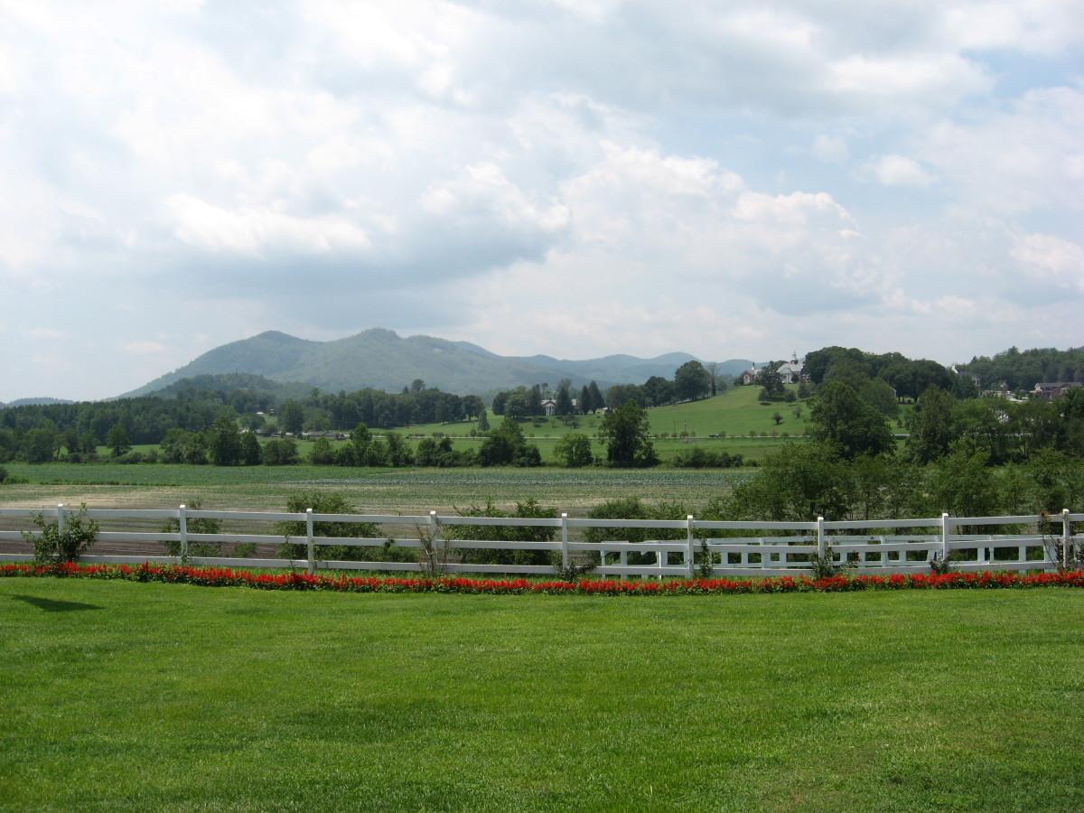 Blue Ridge Mountains - North Georgia. The Blue Ridge Mountains are a sub-range of the Appalachian Mountains.