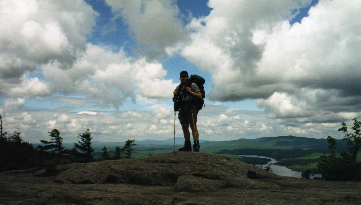 A full pack in the White Mountains.