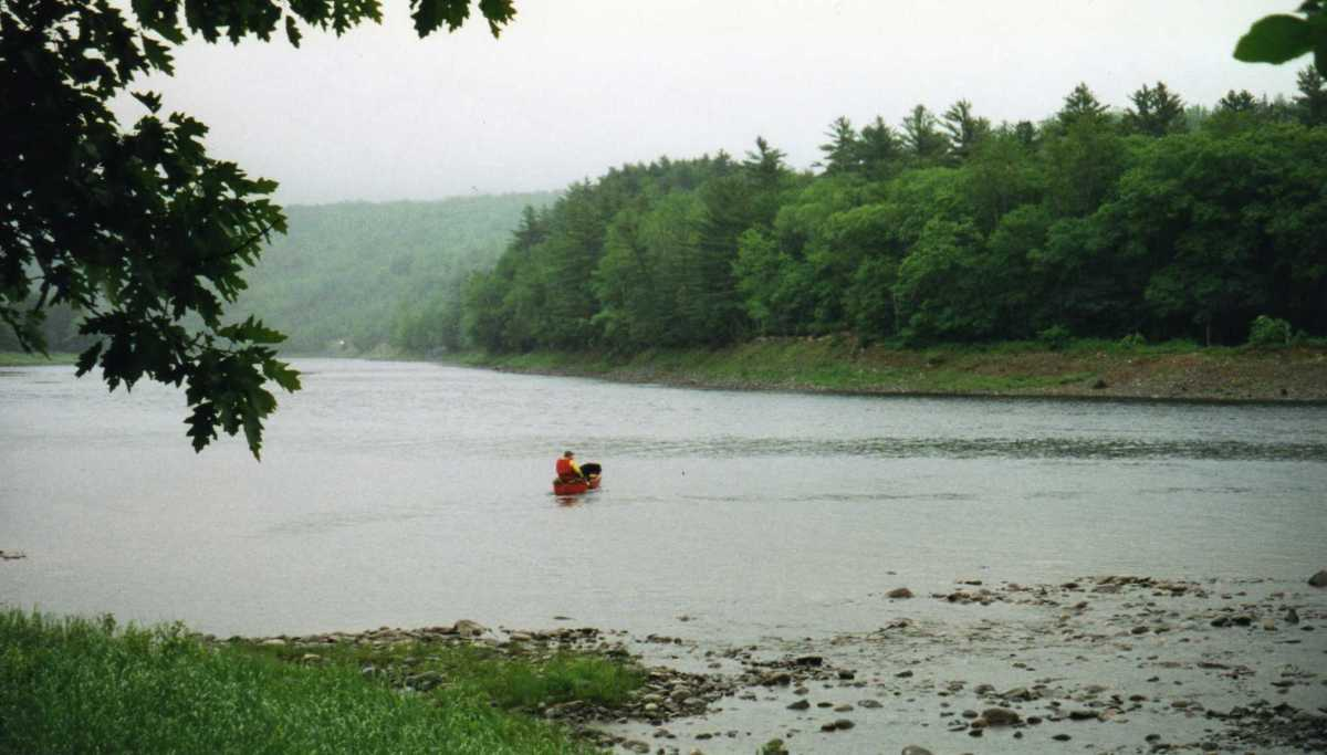 Due to several drownings on the Kennebec River, this ferry service is now provided for hikers.
